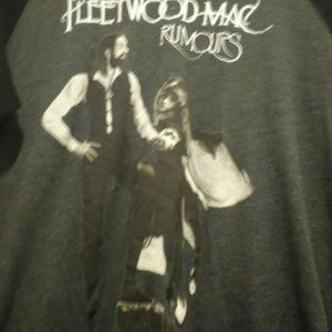 pimatee Tops - Fleetwood Mac Rumours Size M Long Sleeved Tee